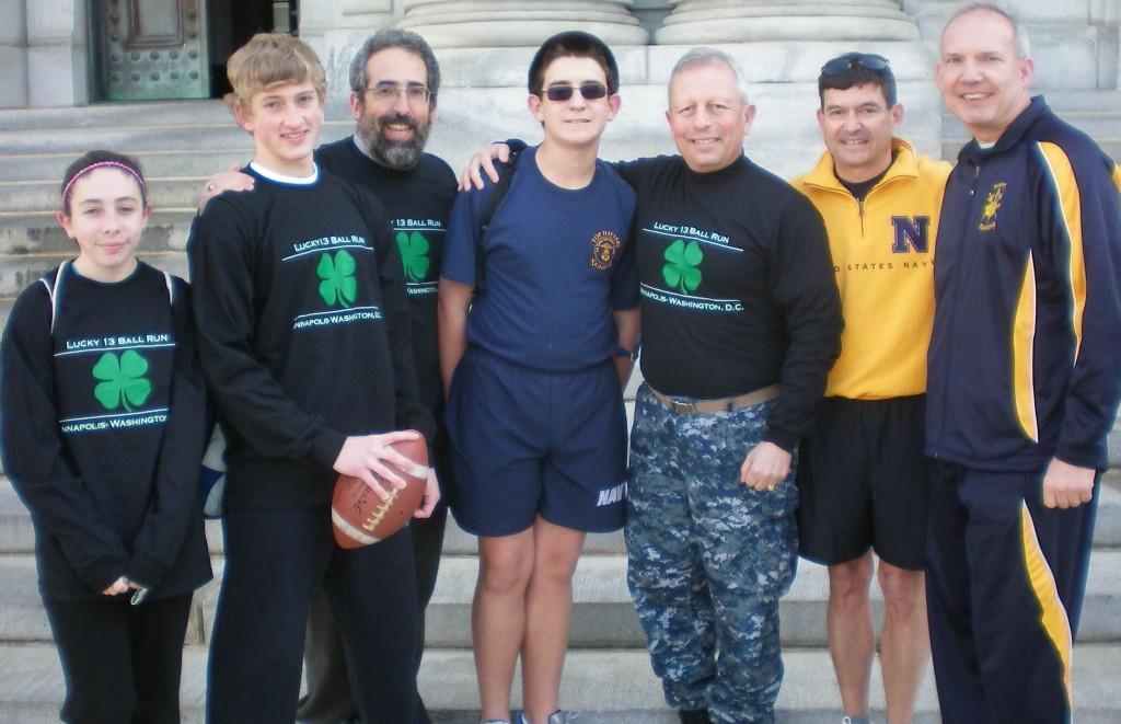 Army-Navy Ball Run 2011 Alums